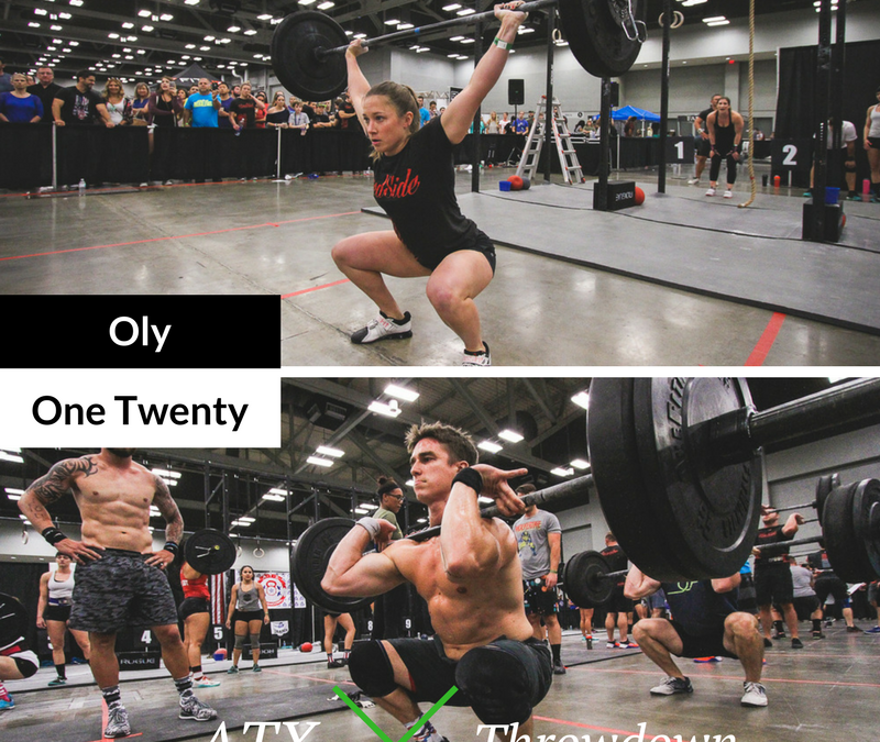 2017 ATX THROWDOWN: Rx Online Workout