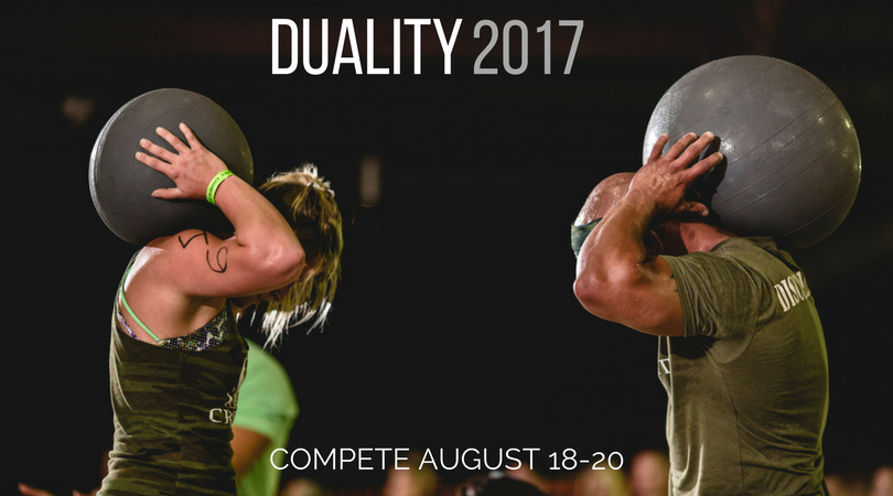 DUALITY 2017 REGISTRATION PAGE